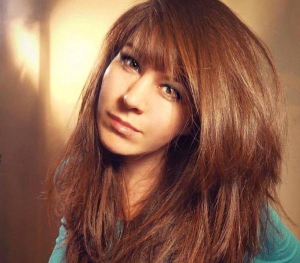 женские стрижки на длинные волосы 4