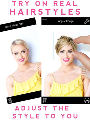 Приложение Hairstyle Mirror